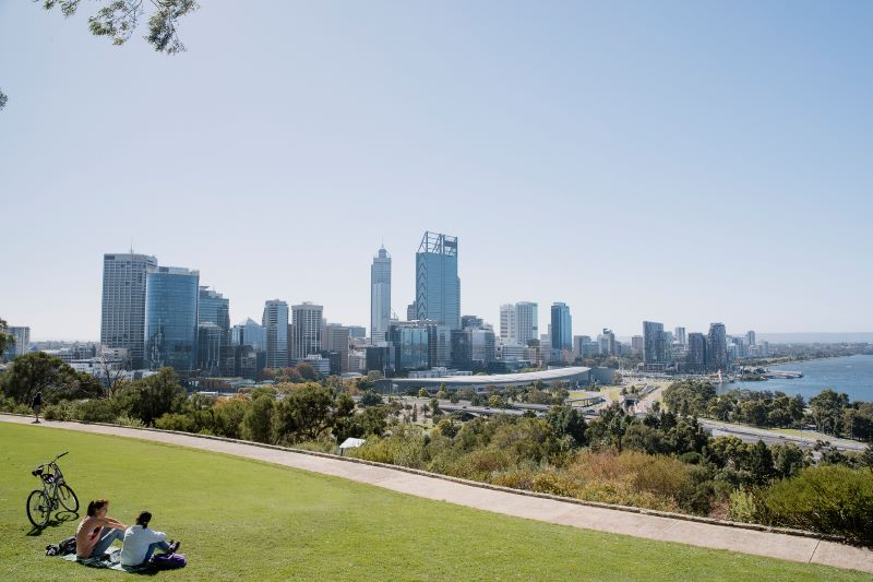 scenic places in perth kings park